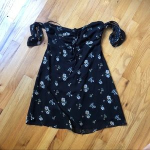 Urban Outfitters floral dress size s